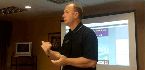 Mike Adair, Director of Operational Programs for PeopleService presents Multimeter 101, for PeopleService employees from all service regions.