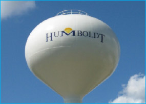 Humboldt water tower