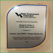 PeopleService wins the George W. Burke, Jr. Facility Safety Award for 2018.
