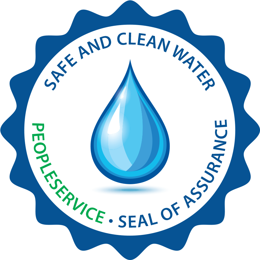 Safe and Clean Water - PeopleService - Seal of Assurance