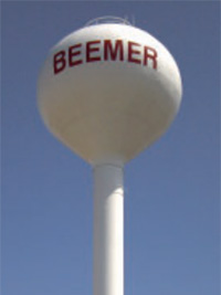Beemer water tower