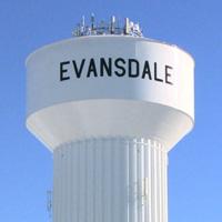 Evansdale water tower
